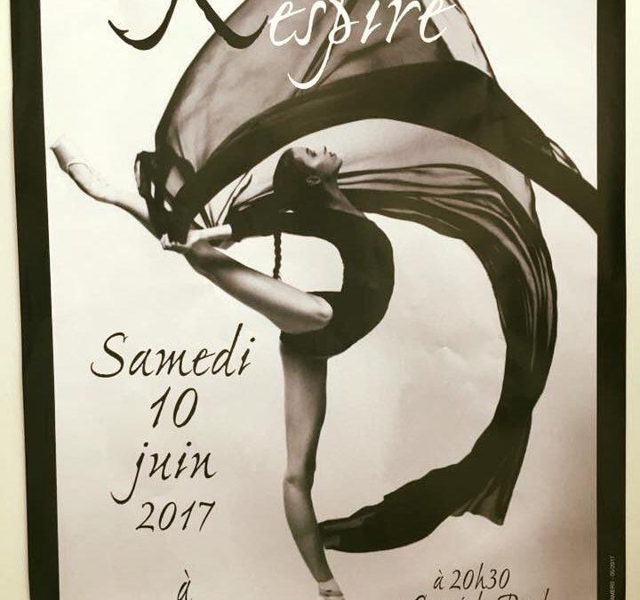 Respire Gala de danse le 10 juin